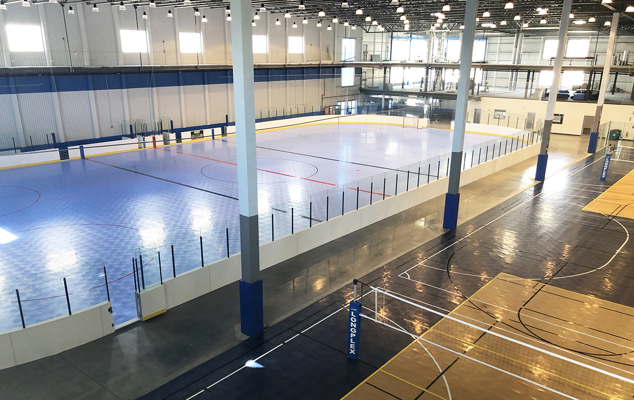 Inline Hockey, sports surfaces