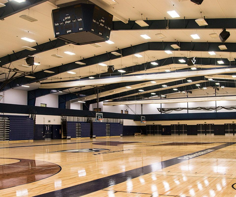 Messiah College Expansion, Gym Flooring