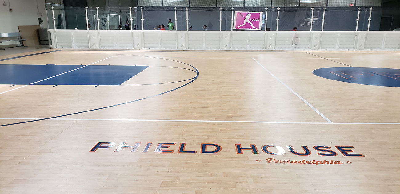 Baseketball flooring, volleyball flooring, installation