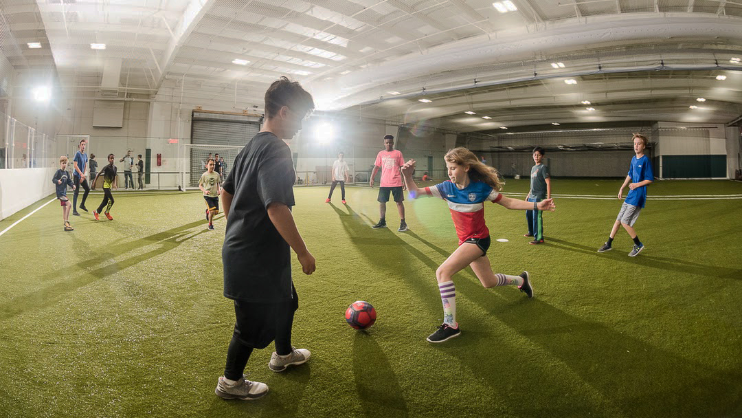 soccer, turf, kids, indoor facility