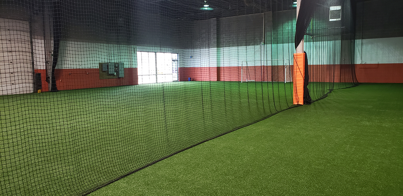 Protective Netting, Artificial Turf, ninja warrior obstacles, Pitching Machines