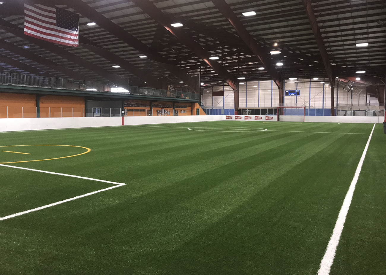 Replacement Turf, Turfing, Indoor Sports Complex