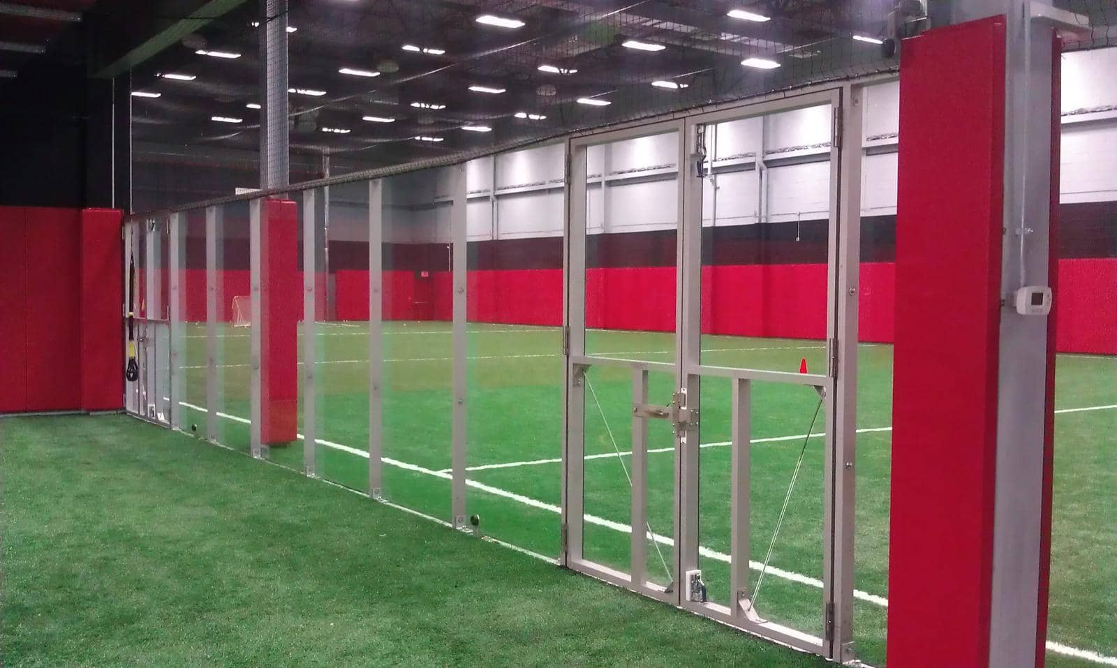 Indoor Sports Facility Construction with Dasher Board materials