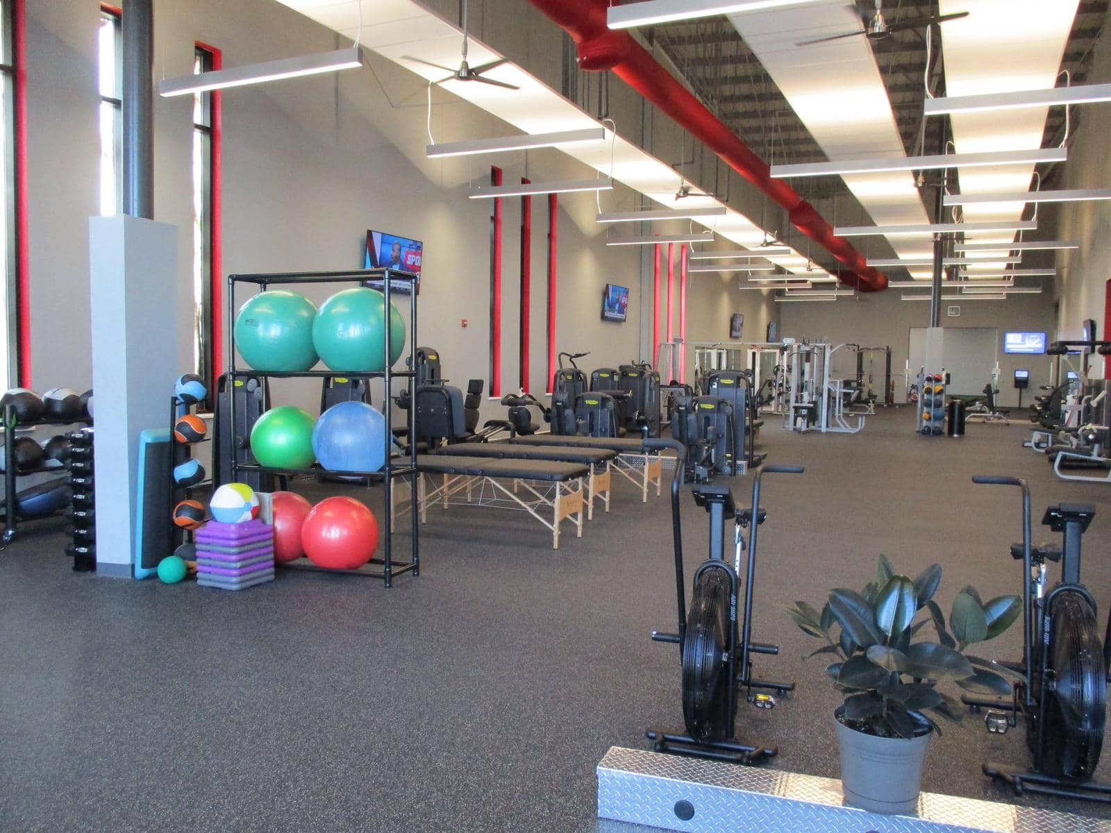 Health Club Flooring The Miller Center Lewisburg Pa All Sports