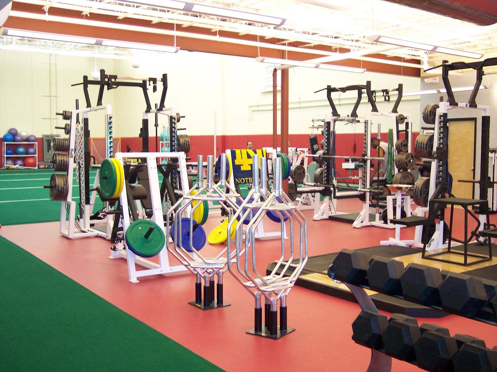 fitness room flooring options