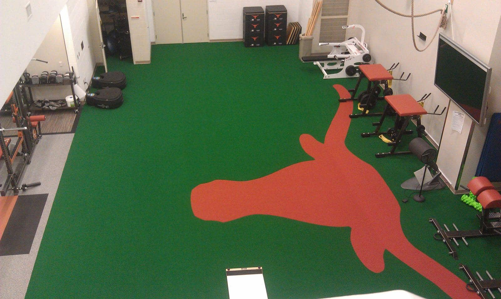 Health Club Flooring
