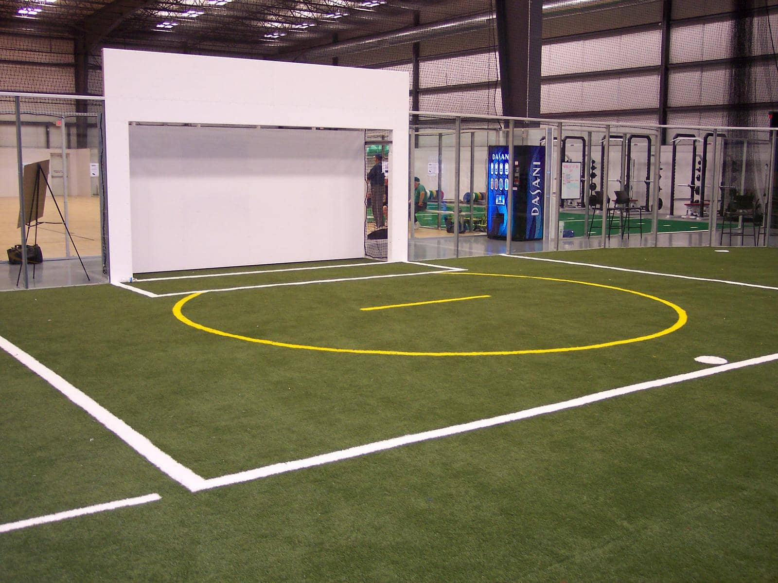 Building an Indoor Sports Facility