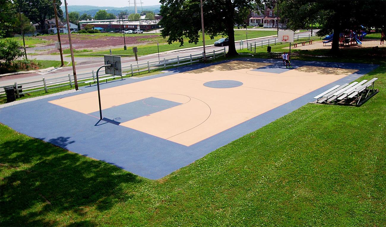 Borough of Phoenixville, Tennis, Outdoor, Basketball Court, Reservoir Park