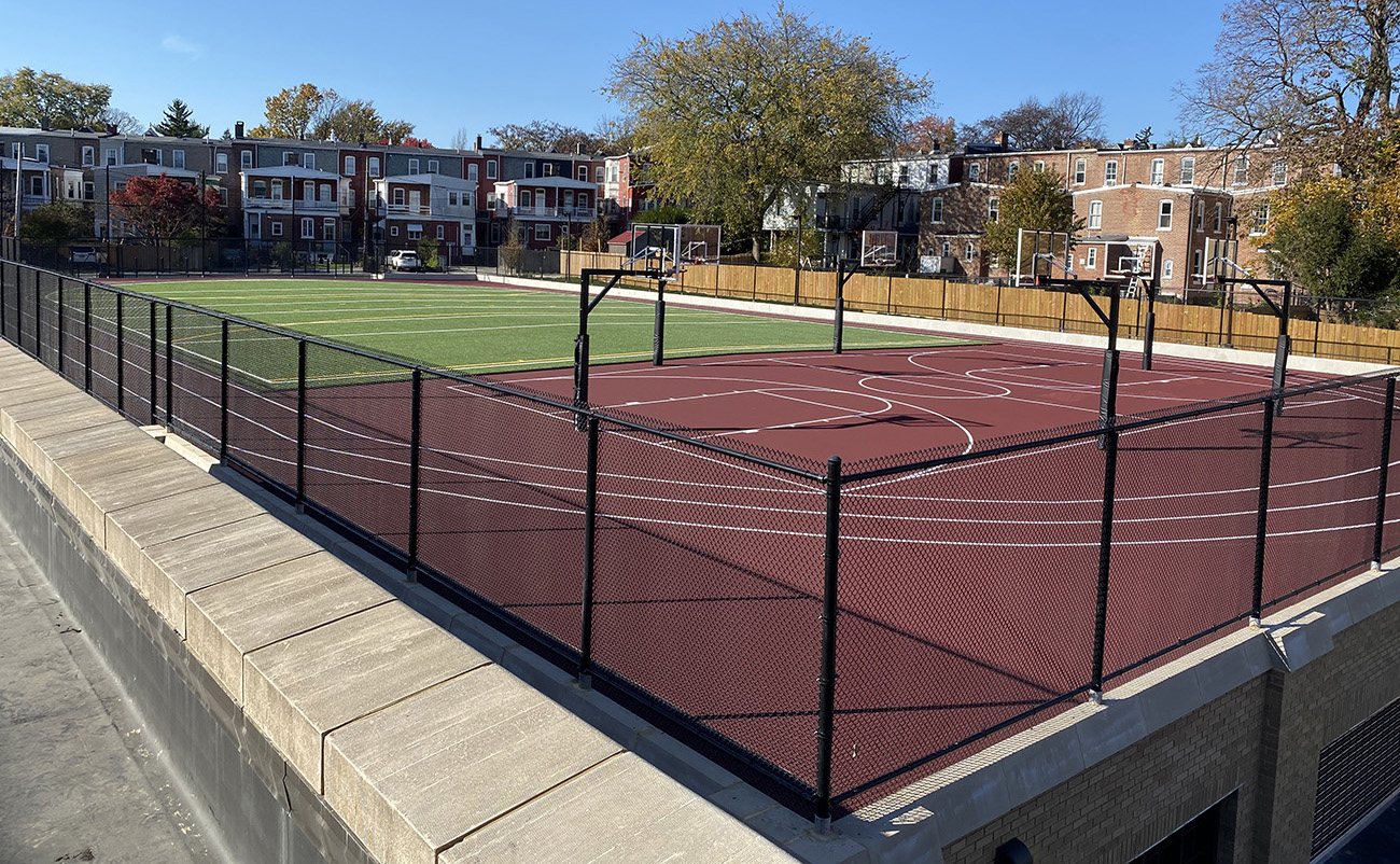 Water Proofing, Sports Surfacing