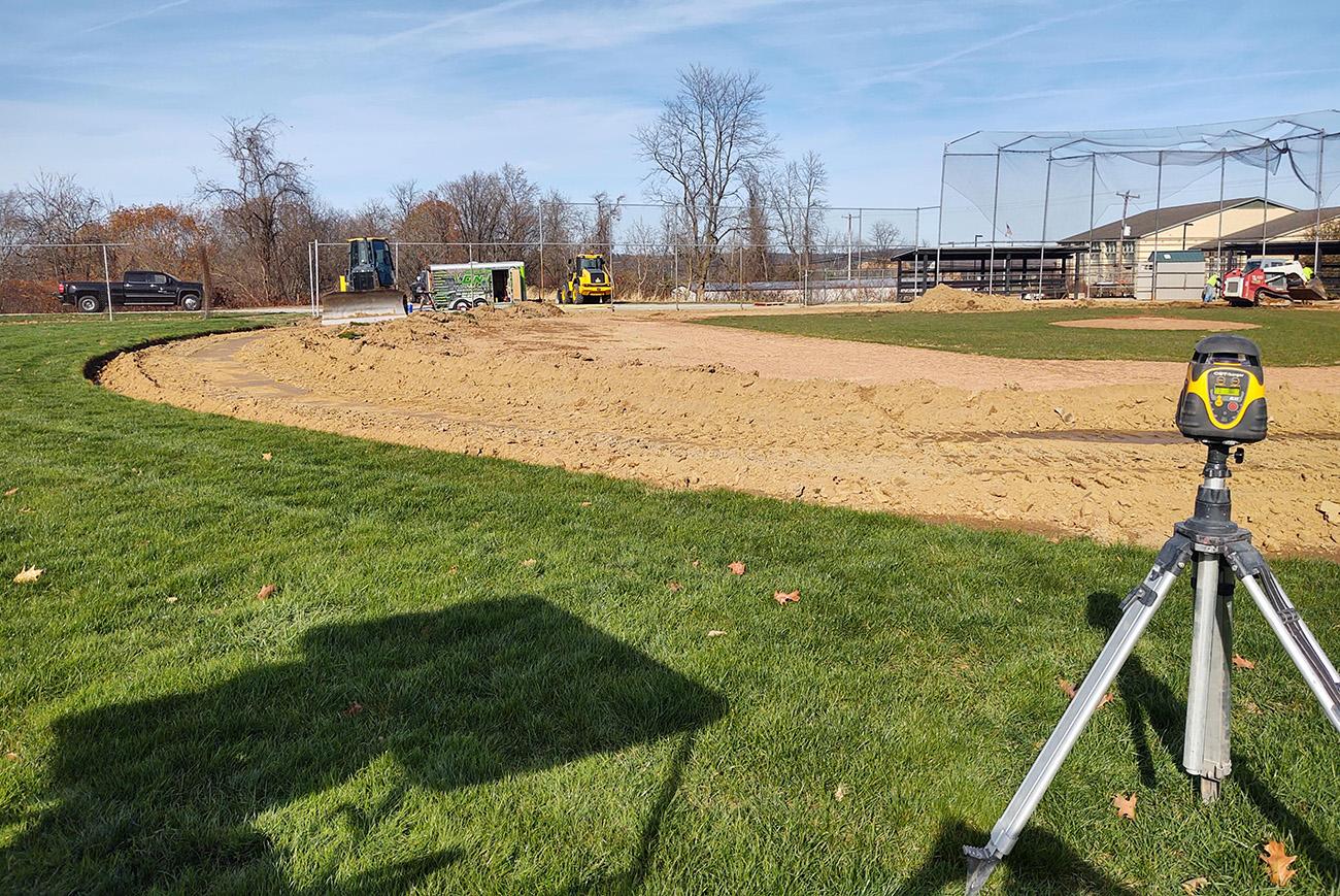 Survey, Excavation, Three Rivers Baseball Fields