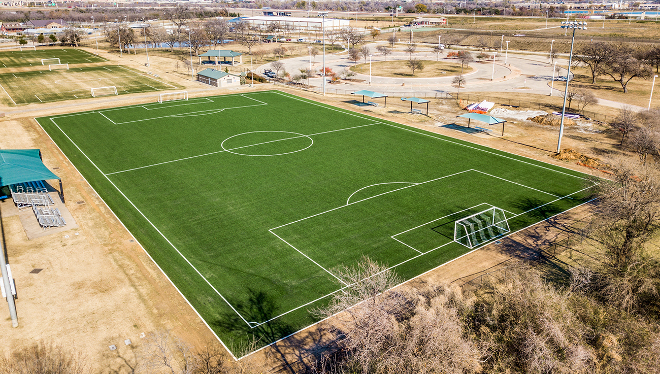 Outdoor Artificial Turf Field Texas