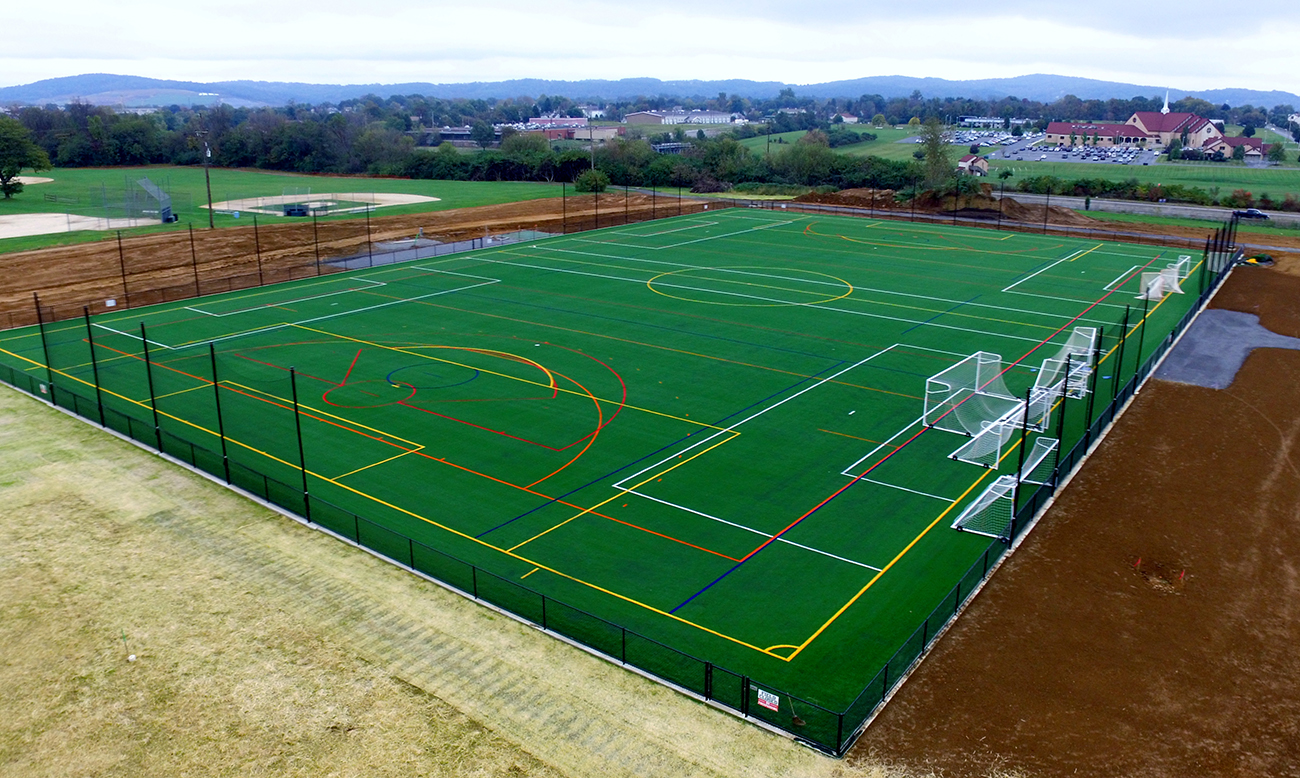 Sports Surfaces: Charles Chrin Community Center, Easton, PA