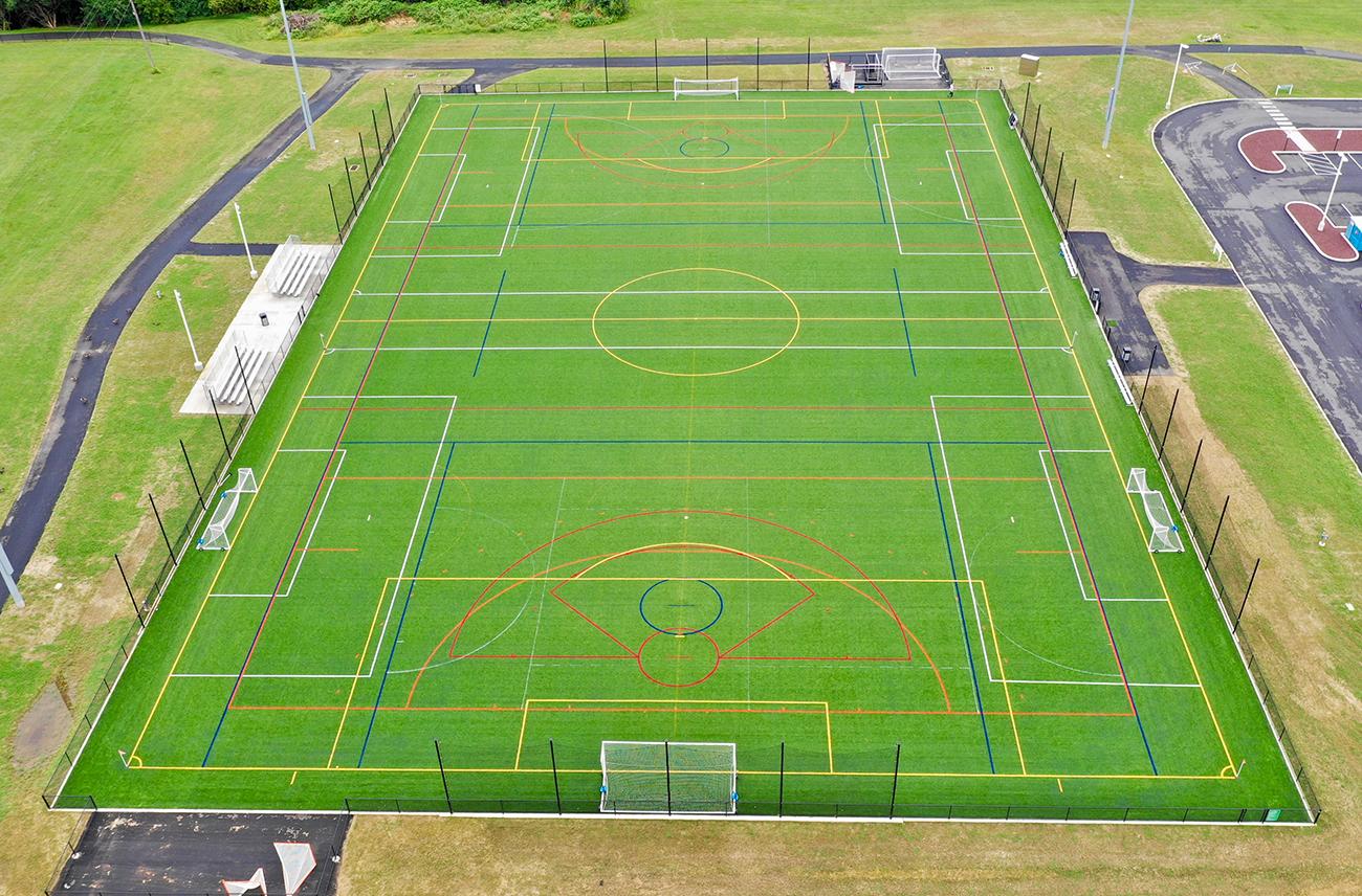 artificial turf lacrosse field