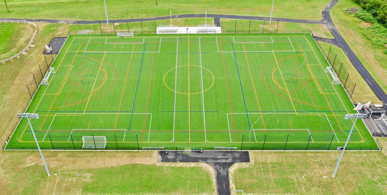 artificial turf sports surfaces