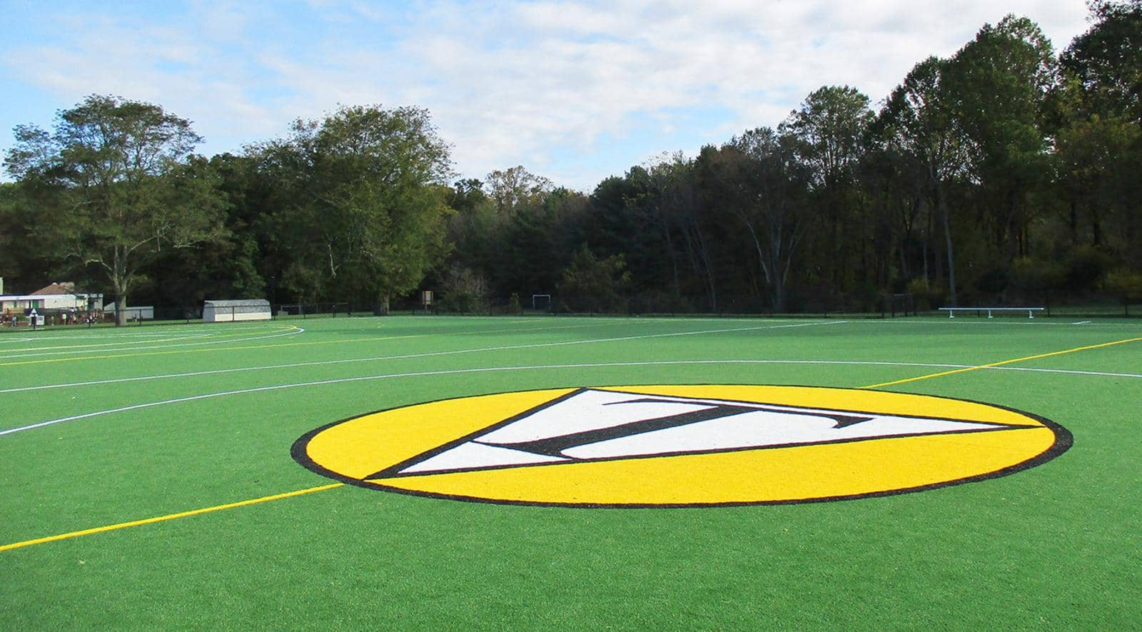 Astroturf field for Tatnall School field hockey and girls lacrosse