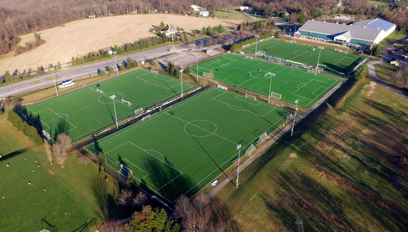 USTC Artificial Turf Outdoor Fields, Downingtown, PA