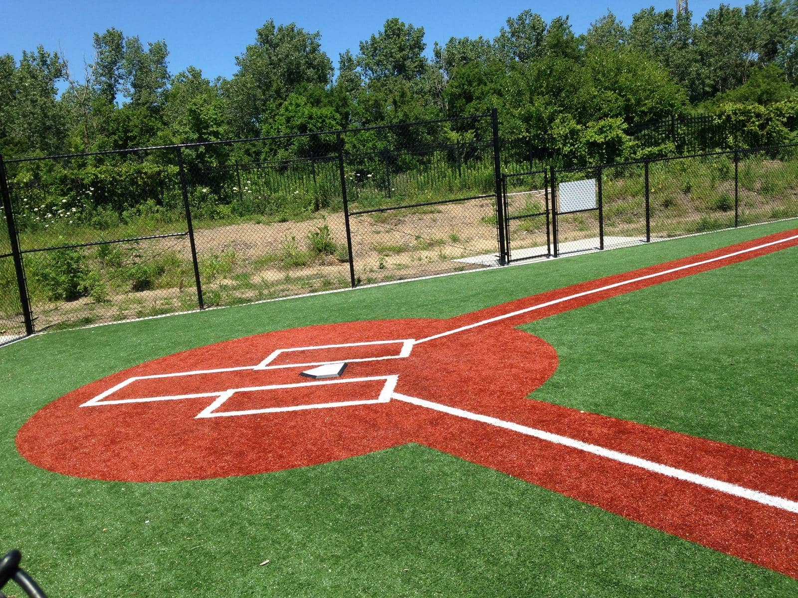 home base for T-ball field
