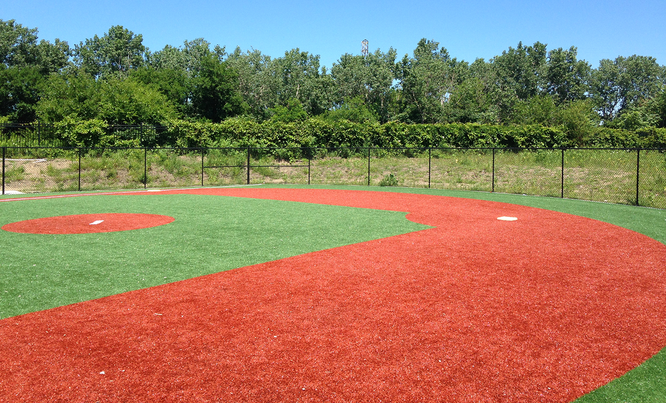 Artificial surfaces for outdoor sports