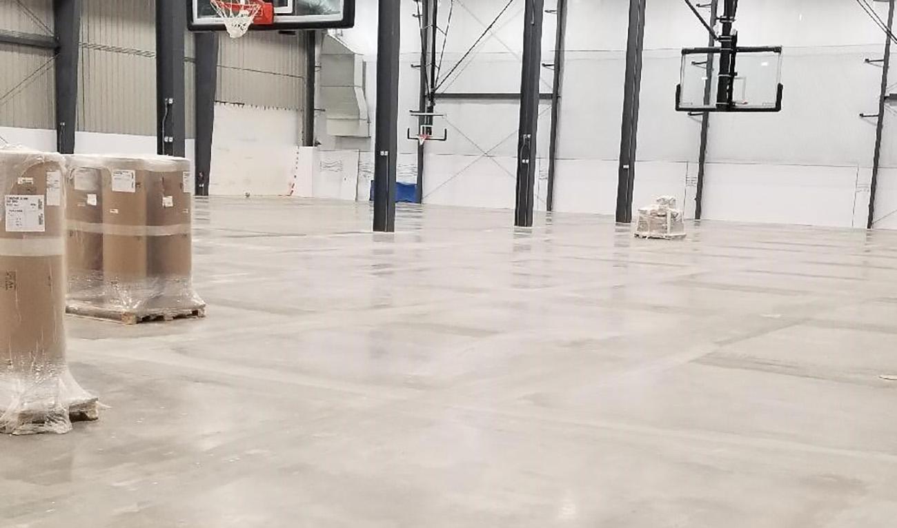 Taraflex Sports Flooring Installation at The Centre
