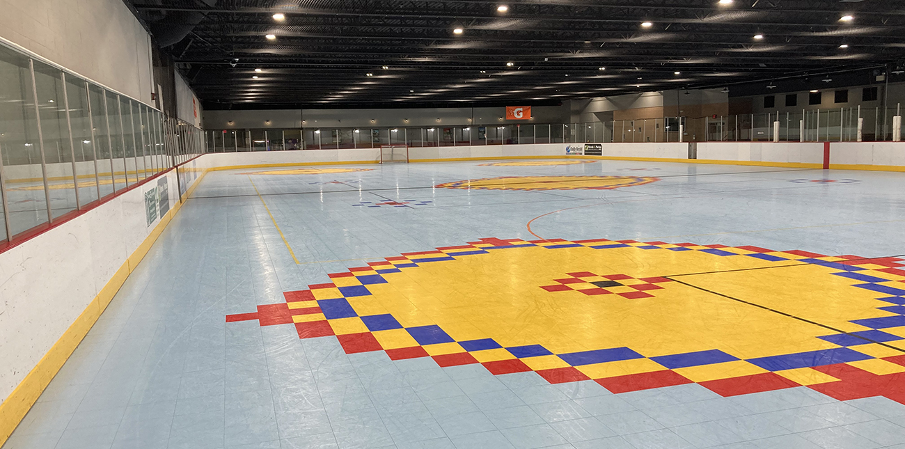 Converting In-Line Skating Rink to Turf