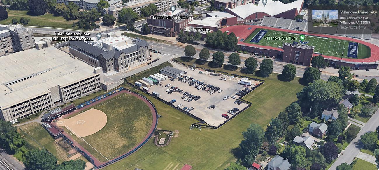 Villanova Wildcats' Revamp Softball Field